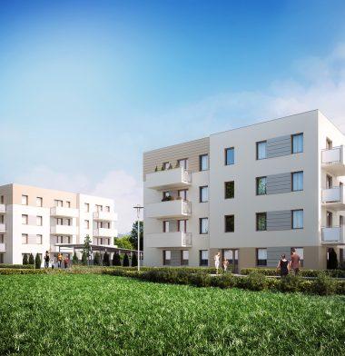 panorama osiedle mieszkaniowe Radom